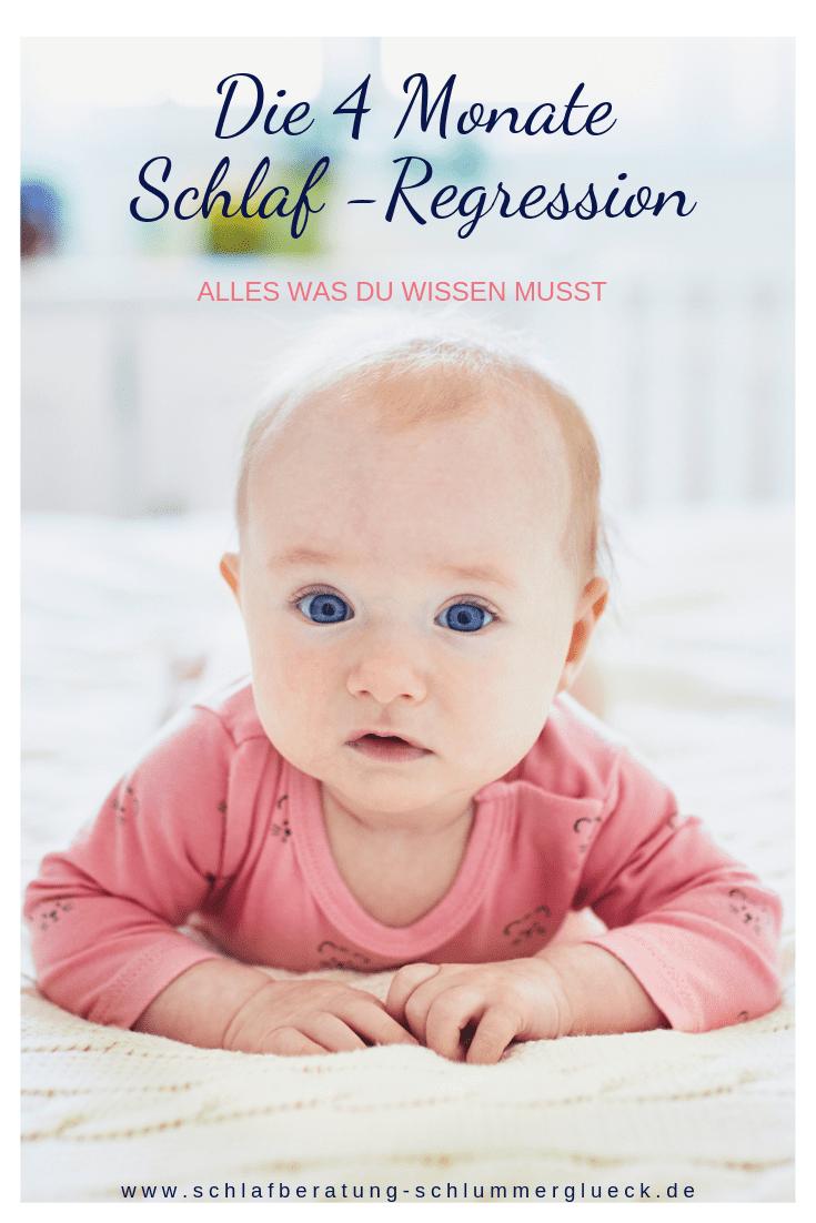Die 4 Monate Schlaf-Regression – Alles was du wissen musst