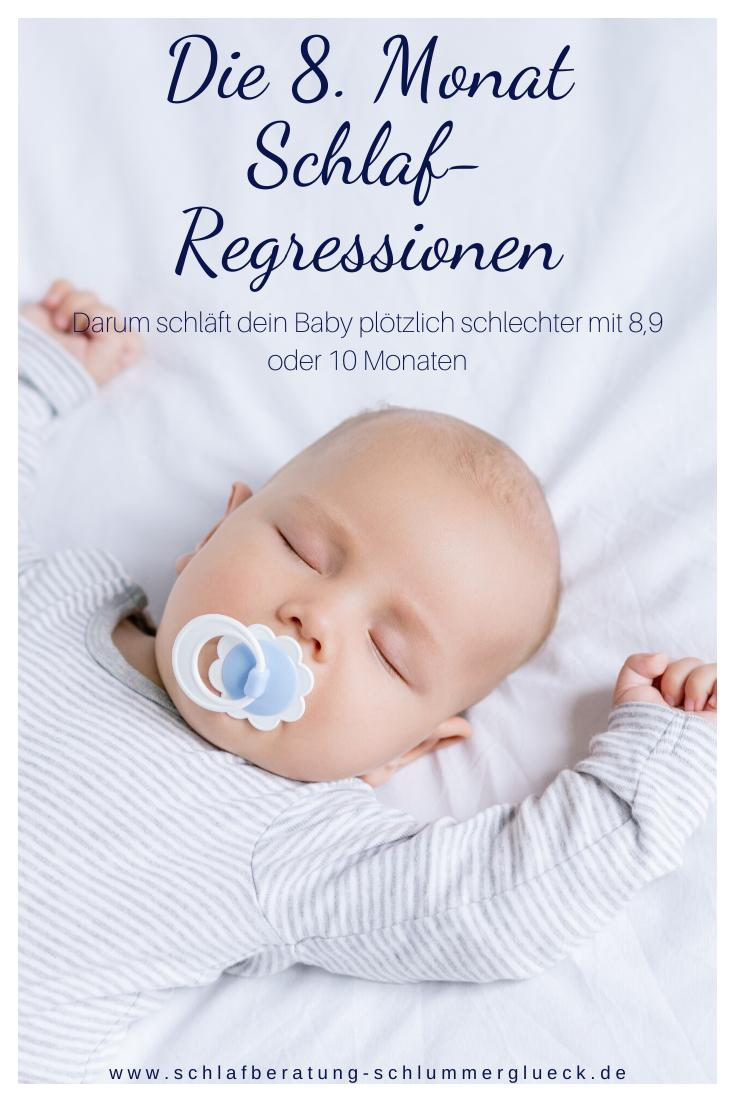 Die 8. Monat Schlaf-Regression