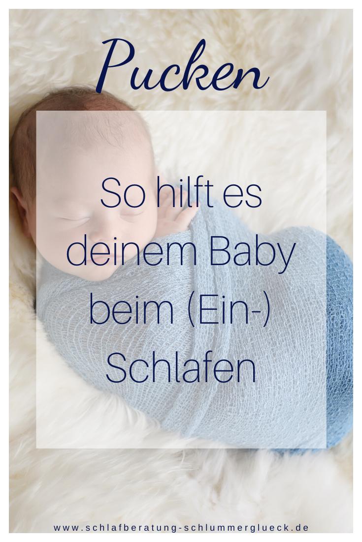 Pucken – So hilft es deinem Baby beim (Ein-) Schlafen